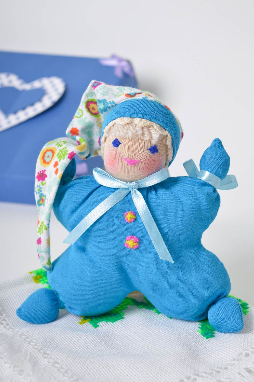 Toy for kids handmade soft toy soft doll nursery decor for decorative use only photo 5