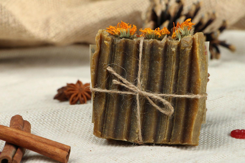 Natural sedative soap Calendula photo 1