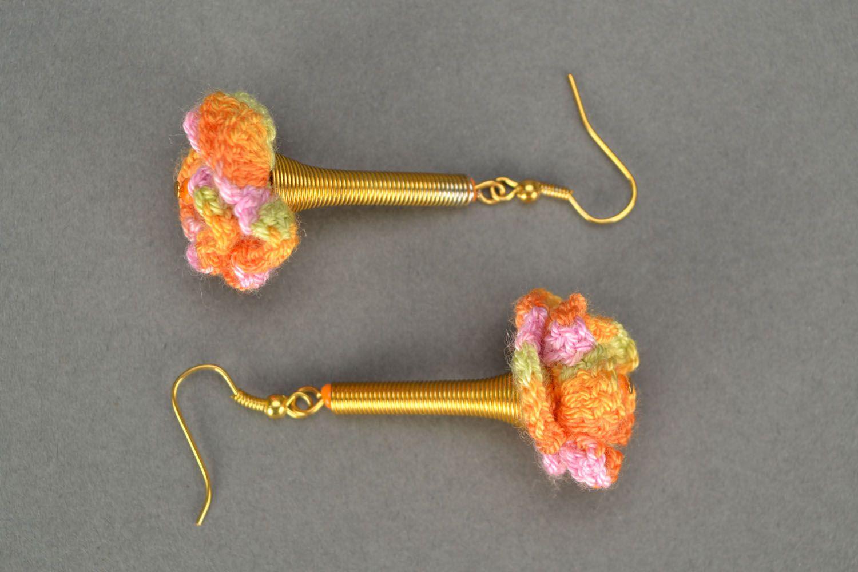 Crochet earrings Joy photo 3
