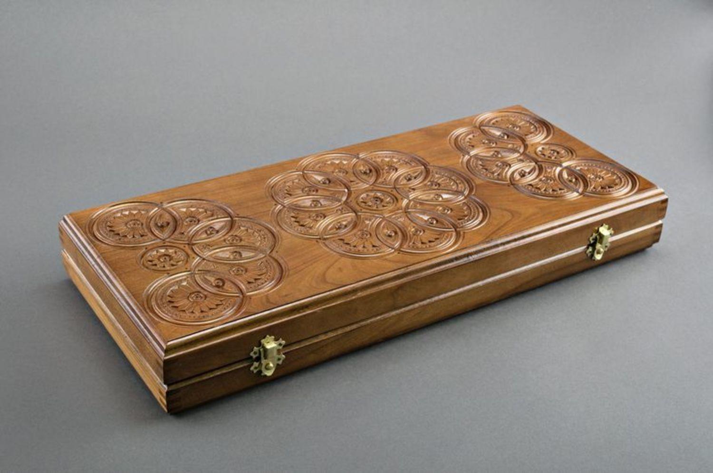 Handmade wooden backgammons photo 5