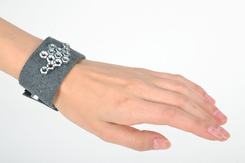 Filz Armband mit Aufschlägen foto 5