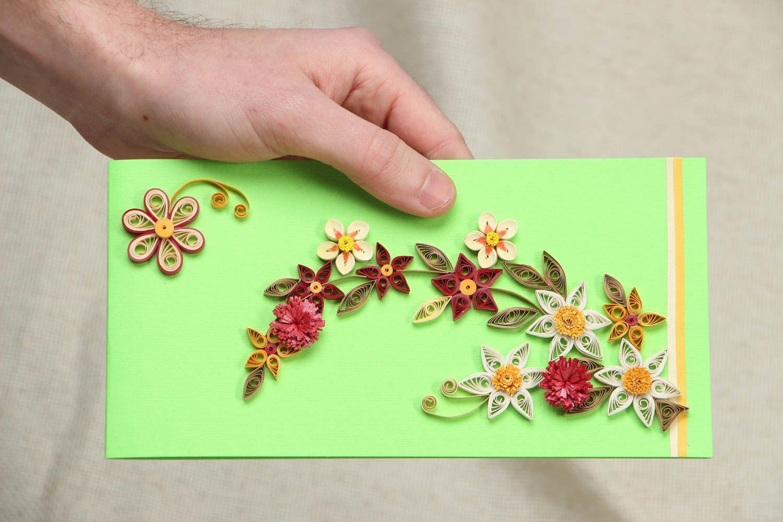 Unusual rectangular handmade greeting card photo 4