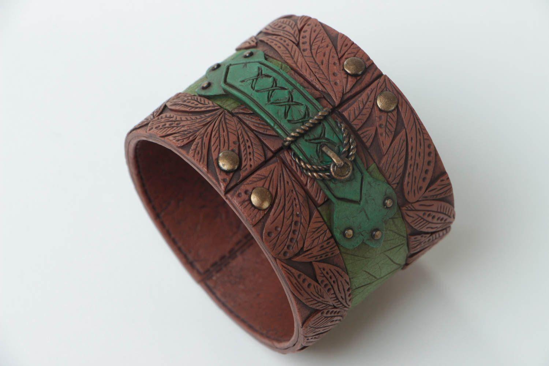 Handmade Damen Armband Ethno Schmuck Designer Accessoire stilvoll modisch schön foto 4