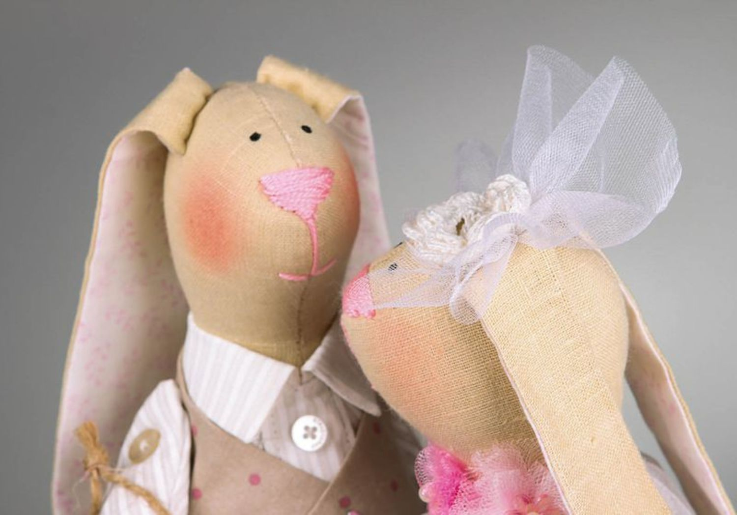 Set of soft toys Just married photo 2