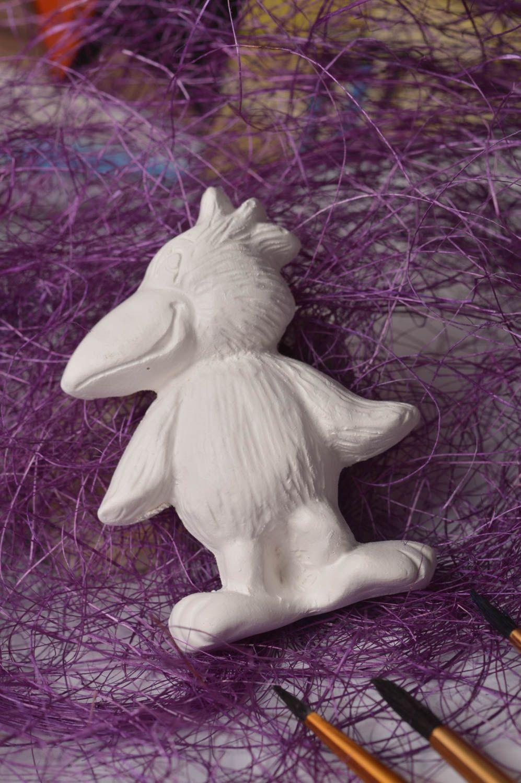 Madeheart figurine en pl tre fait main objet peindre for Objet platre deco