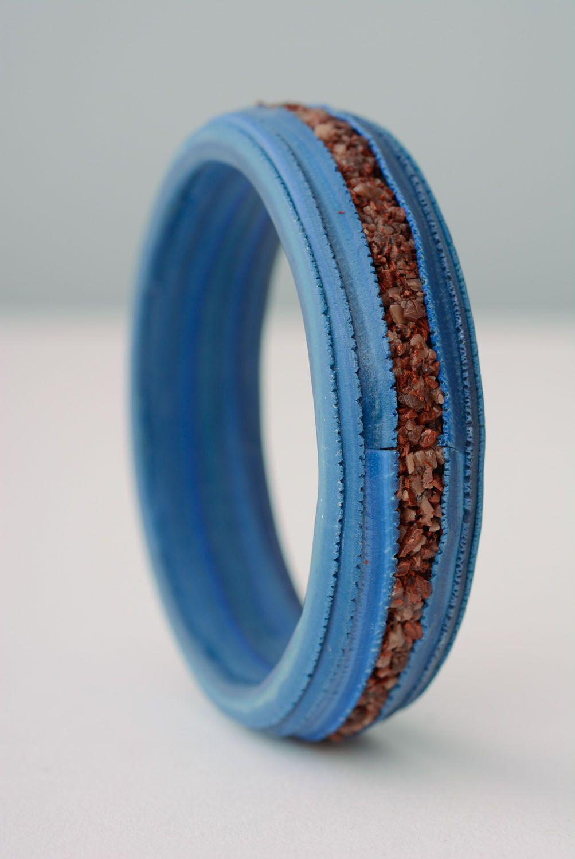 Polymer clay bracelet photo 3