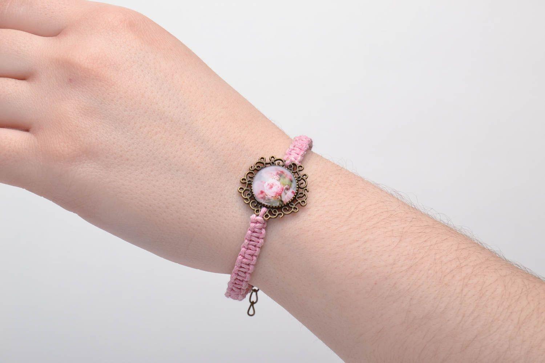 Textil Armband handmade foto 5