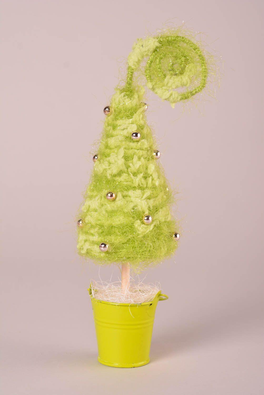 decoración del Año Nuevo Árbol de Navidad original hecho a mano objeto decorativo regalo artesanal - MADEheart.com