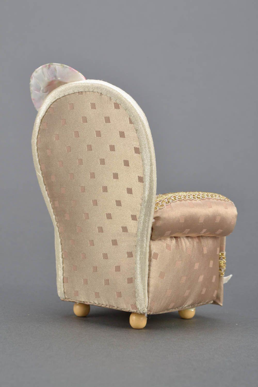 Décorative Fauteuil Faite Bijoux Design À Main De Forme En Boîte Originale wknOP80