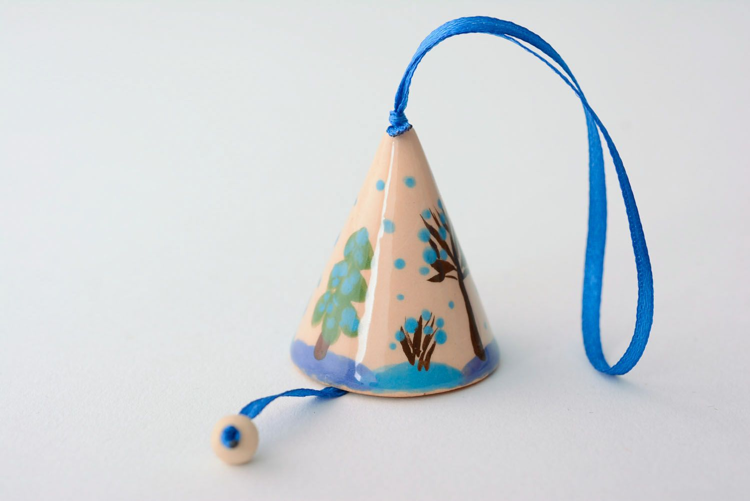 Decorative ceramic bell photo 2