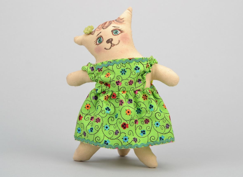 Handmade toy Cat photo 3