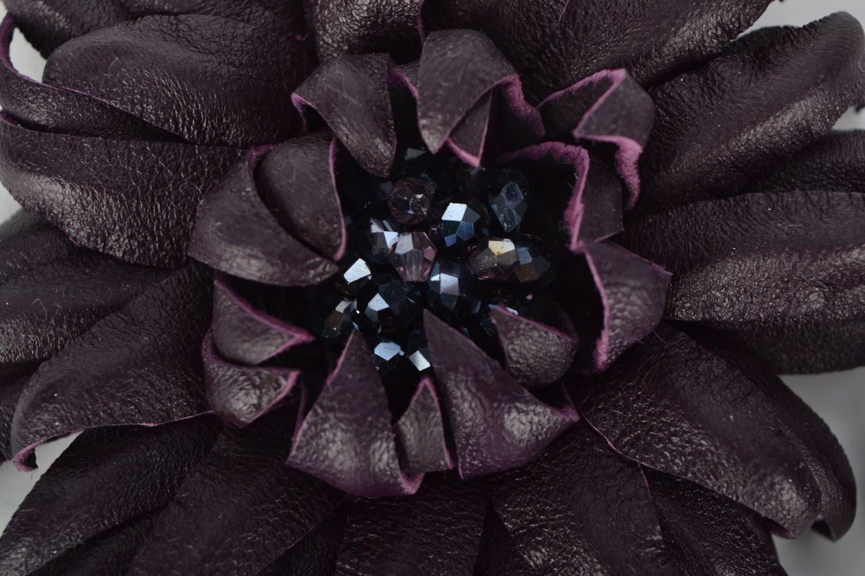 Set of brooches Violet Garnet photo 3