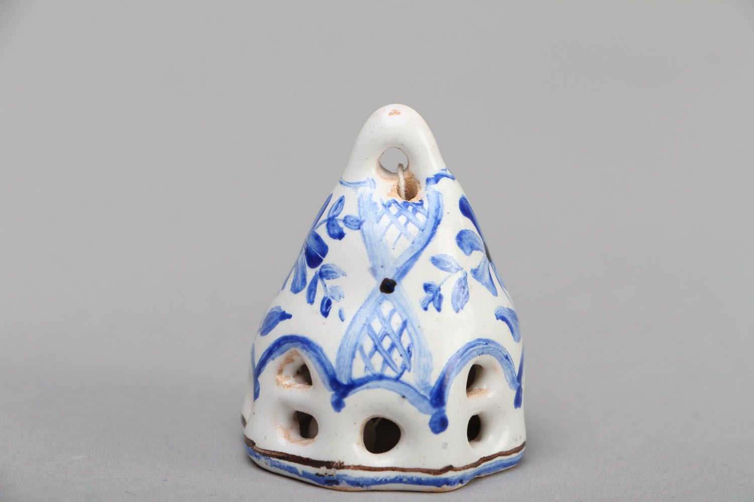Small enameled bell photo 1
