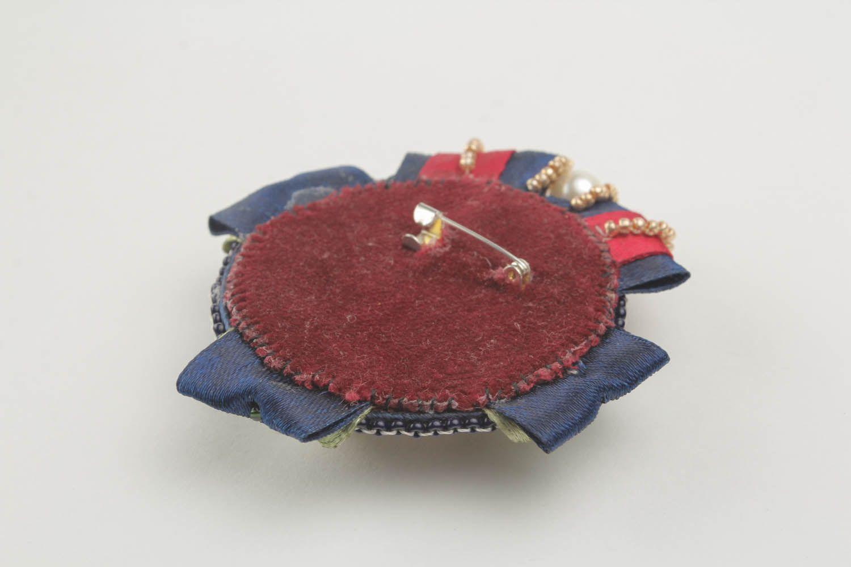 Soutache brooch decoration photo 3