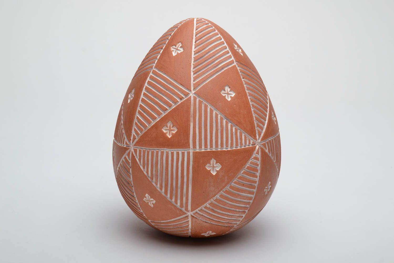 ceramic easter eggs Large painted ceramic egg Sorokoklinka - MADEheart.com