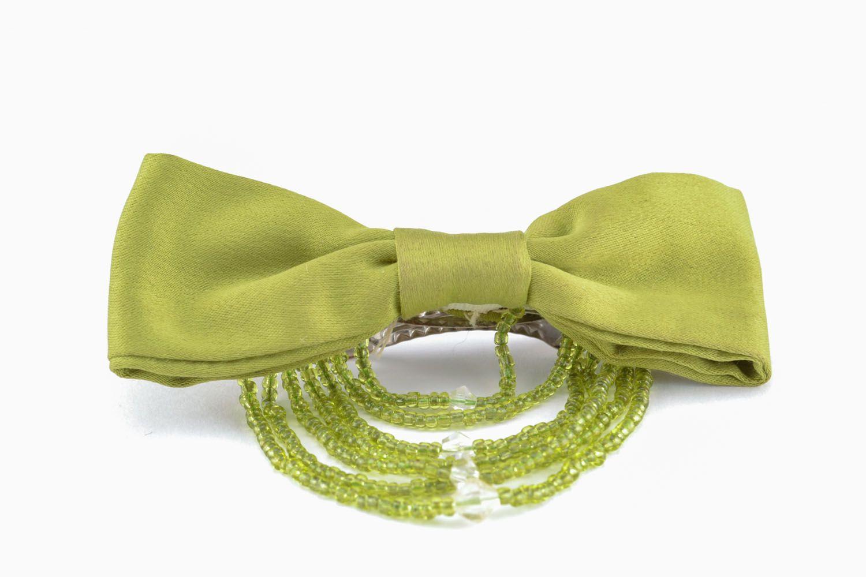 Fabric hair clip photo 1