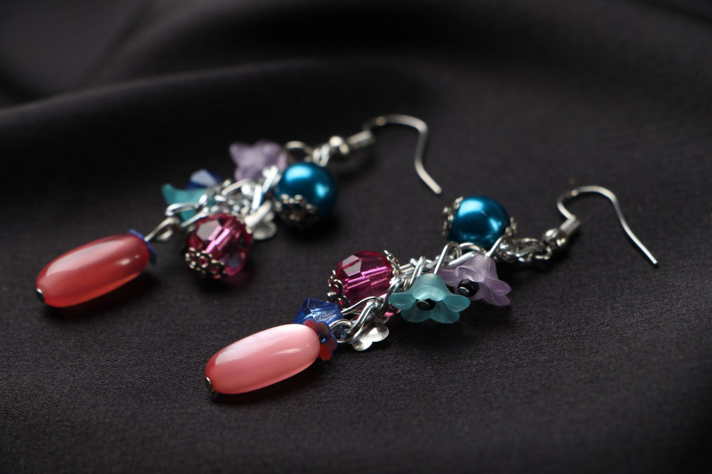 Long earrings Spring Mood photo 2