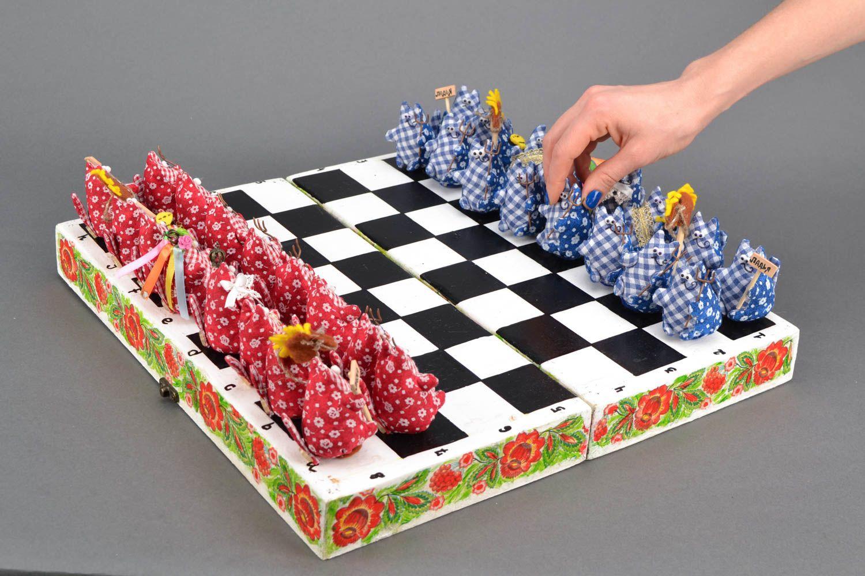Unique designer chess set photo 2