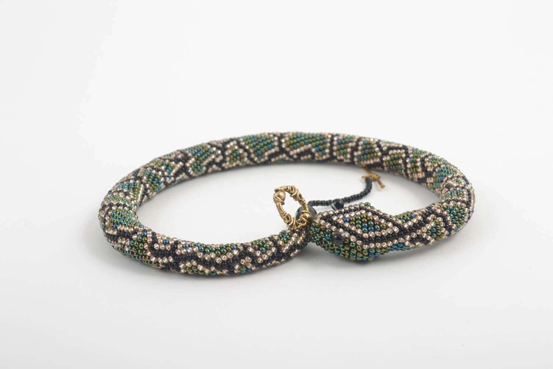 Handmade beautiful beaded jewelry cute designer bracelet wrist bracelet photo 4