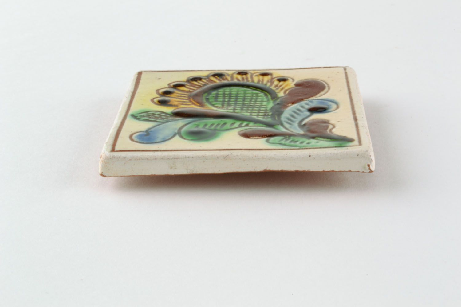 Ceramic fridge magnet photo 3