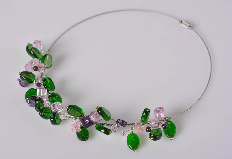 MADEHEART > Stylish handmade beaded necklace cool jewelry designs ...