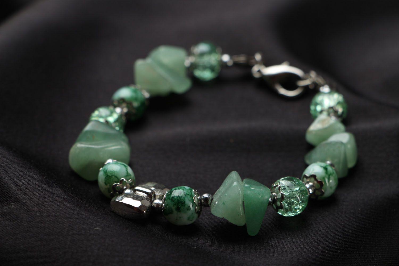 Natural stone bracelet photo 2