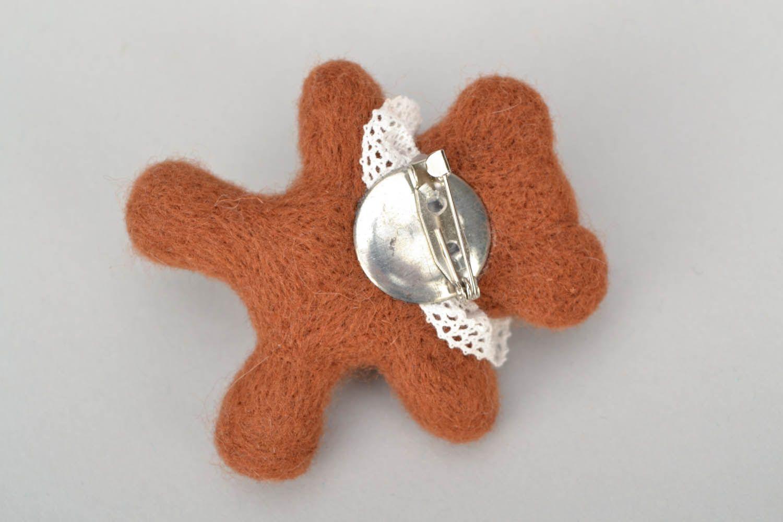Soft brooch Little Bear photo 5