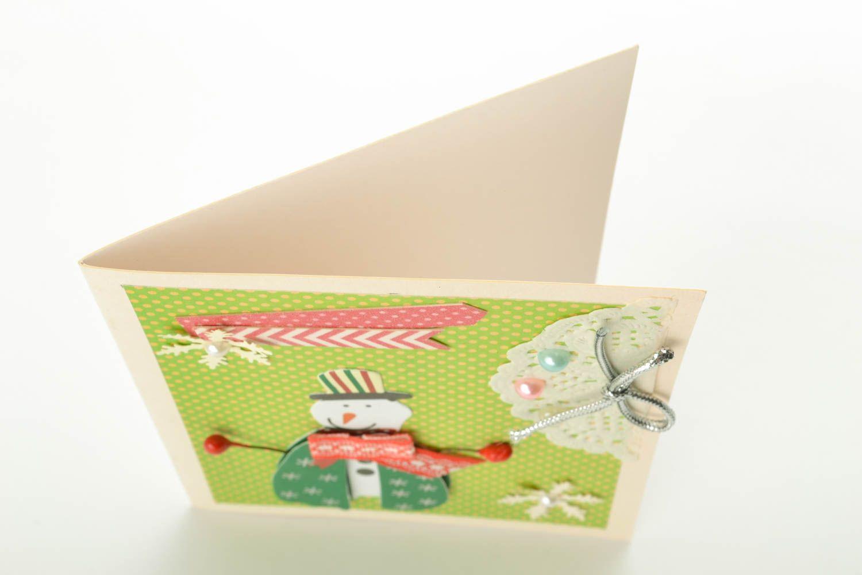 Christmas greeting card  photo 1