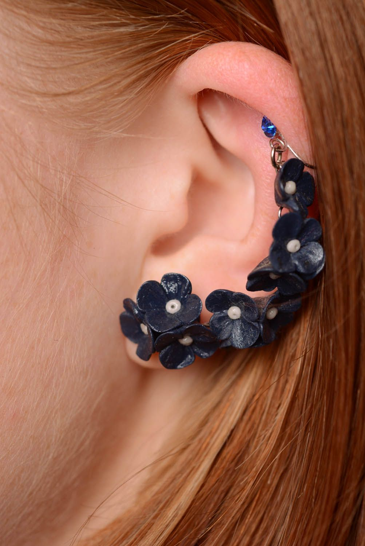 Designer's cuff earrings Twilight photo 3