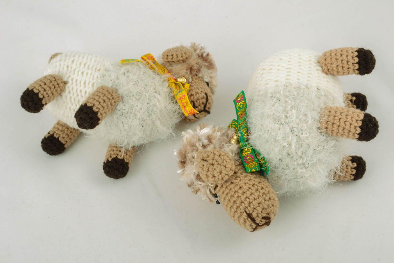 Вязание крючкомигрушка овечка 67