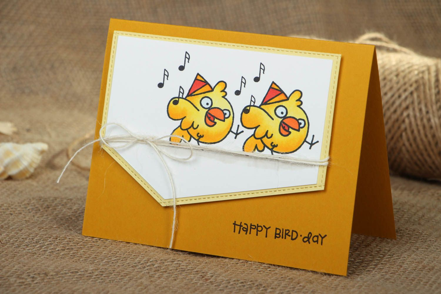 Beautiful happy birthday greeting card photo 5