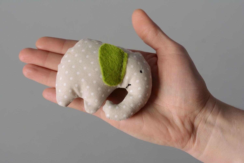 Soft toy with mint Elephant photo 4