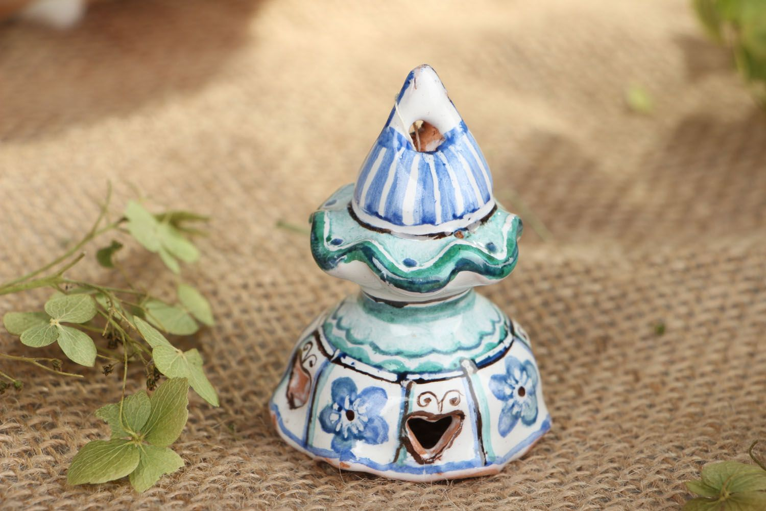 Beautiful clay bell photo 5