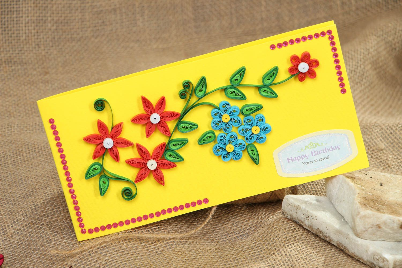 Handmade greeting card Happy Birthday photo 5