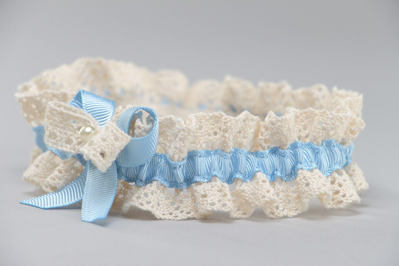Accessory for Bride Wedding Ribbon Bridal Garter Beautiful Lace 3 Piece White Lace Gar20 Elegant