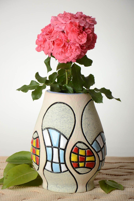 Madeheart handmade decorative vase cute flower vase - Decorative flower vase ...