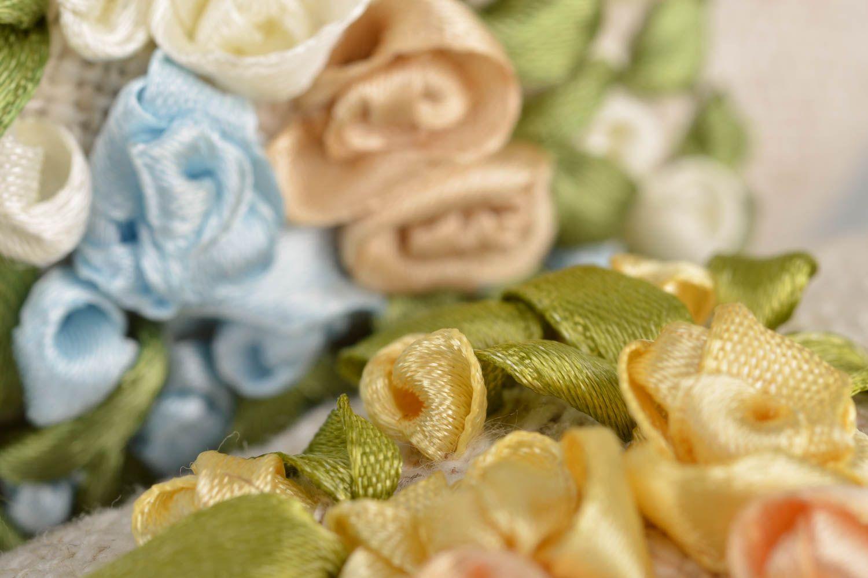 Set of 2 handmade flavored fabric interior hanging hearts sachet pillows photo 4