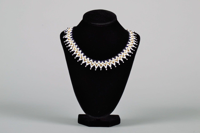 Beaded necklace photo 2