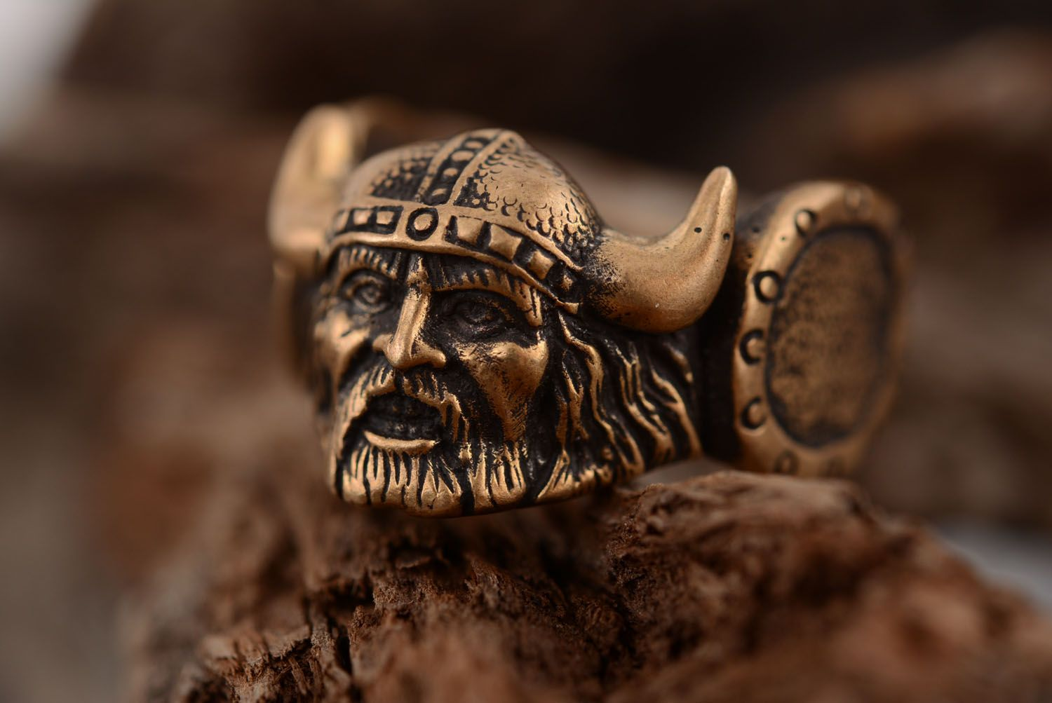Bronze ring Viking photo 1