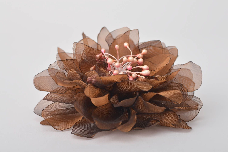Handmade jewelry flower hair accessories flower brooch flower hair clip  photo 3