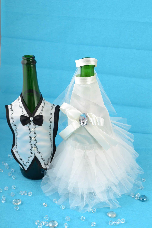 MADEHEART > Ropa para vestir botellas de cava artesanal trajes de ...