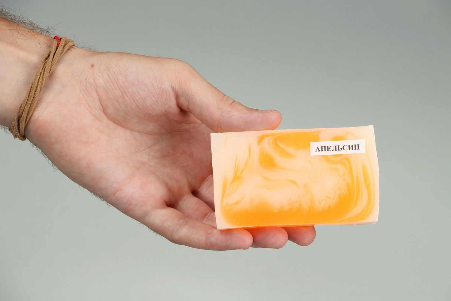 Handmade soap with the scent of oranges photo 5