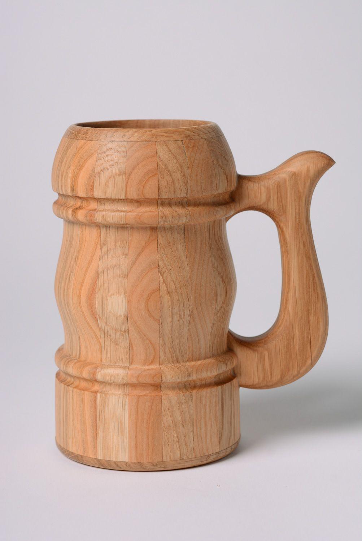 Как сделать деревянную кружку кружка из дерева Hand-made 52