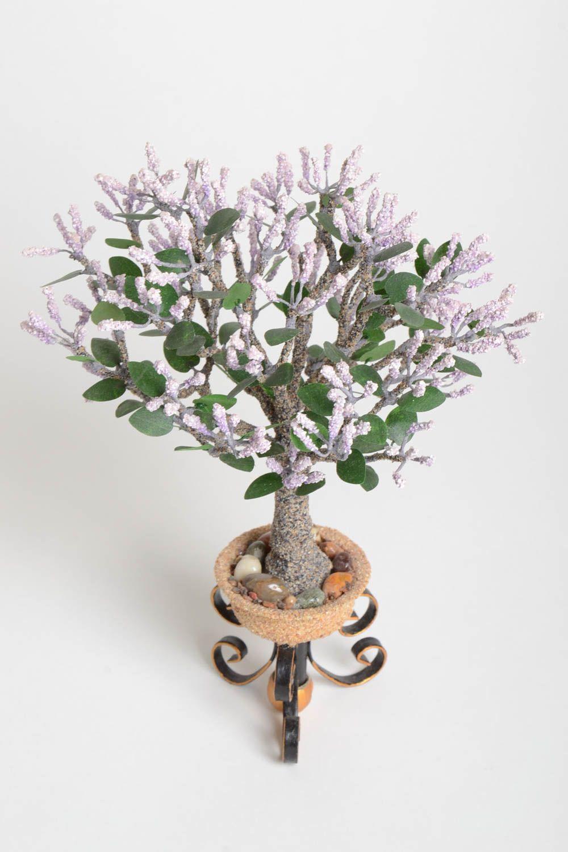 Handmade tree  decor ideas home decor tree with flowers artificial tree photo 5