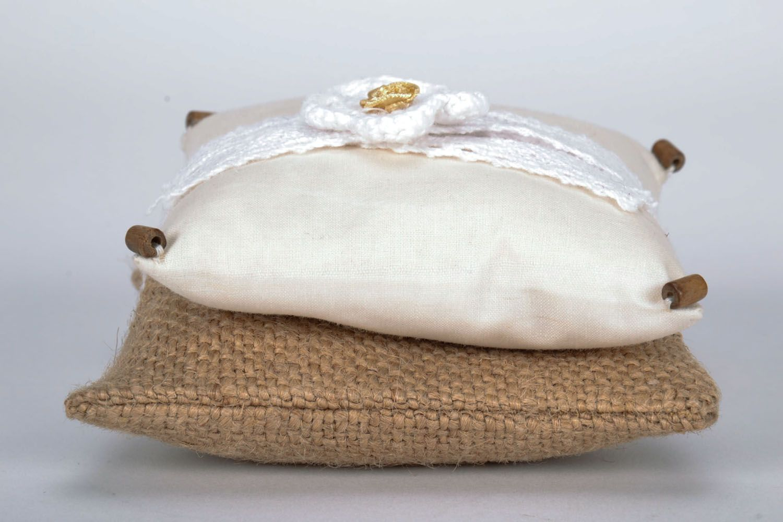 Homemade sachet pillow photo 2
