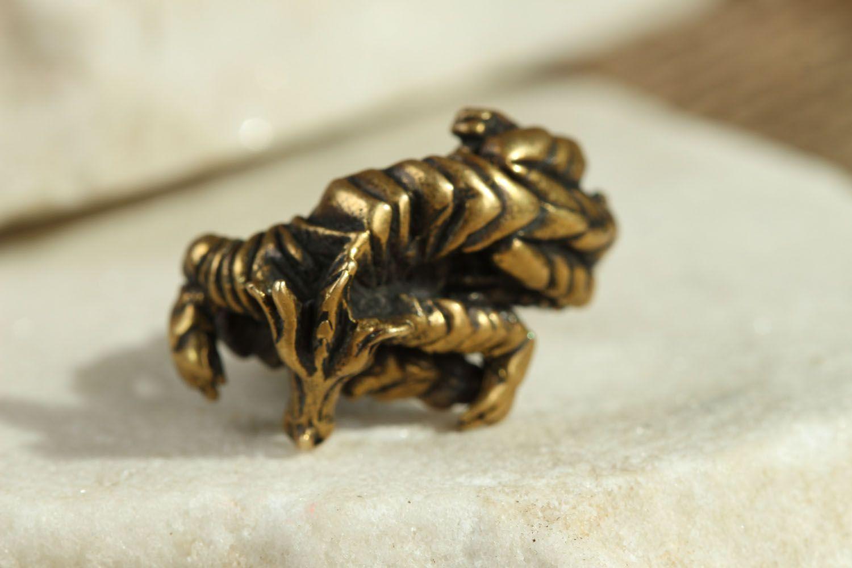 Bronze ring Dragon photo 1