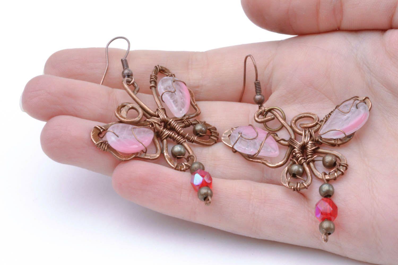 Copper earrings Dream photo 2
