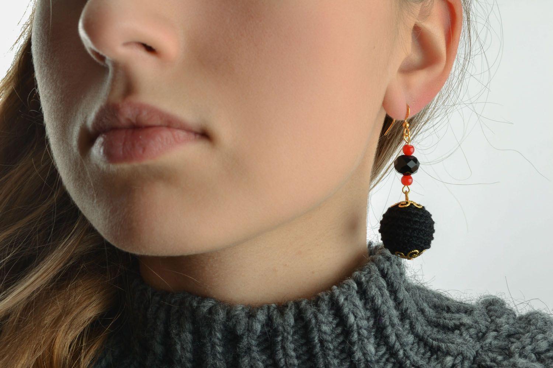 Lange Ohrringe handgemacht foto 5