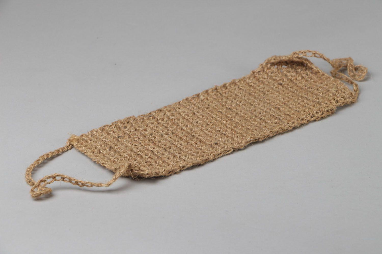 Crochet body scrubber  photo 3