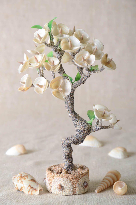 Handmade tree with flowers artificial tree decoration tree handmade gift photo 1